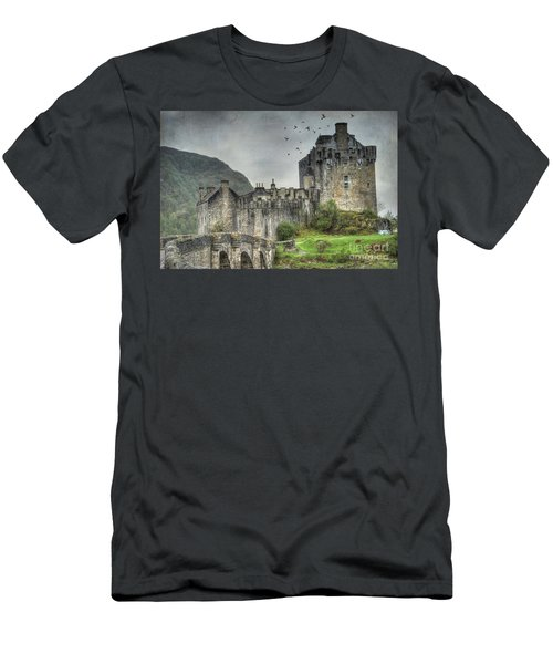 Eilean Donan Castle Men's T-Shirt (Slim Fit) by Juli Scalzi