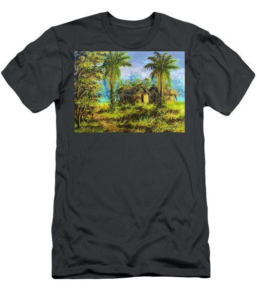 Forest House Men's T-Shirt (Athletic Fit)
