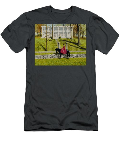 Her Favorite Horse Men's T-Shirt (Athletic Fit)