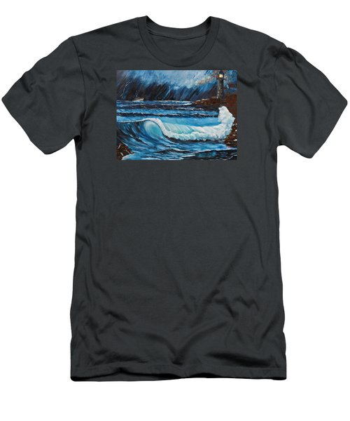 Hope  Men's T-Shirt (Slim Fit) by Patricia Olson