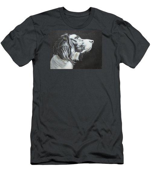 Intent Men's T-Shirt (Slim Fit) by Jeanne Fischer