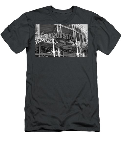 Jacobs Field - Cleveland Indians Men's T-Shirt (Athletic Fit)