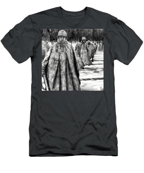 Korean War Memorial Washington Dc Men's T-Shirt (Athletic Fit)