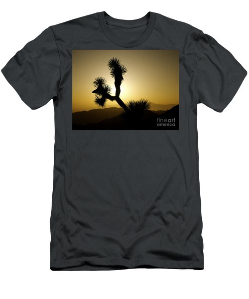 New Photographic Art Print For Sale Joshua Tree At Sunset Men's T-Shirt (Athletic Fit)