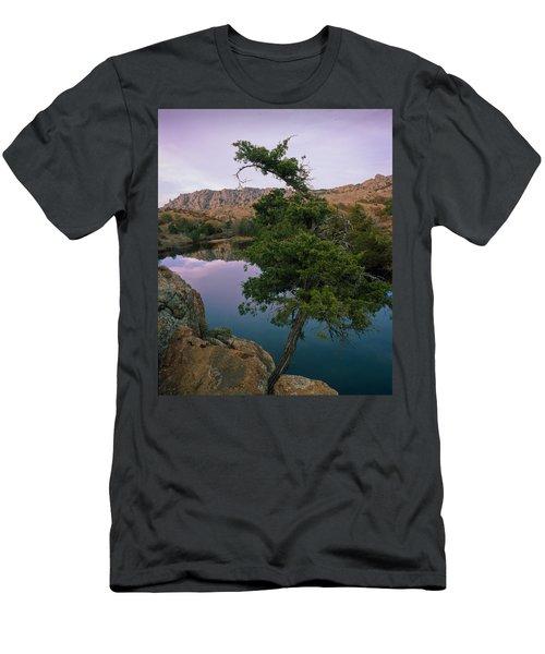 Post Oak Lake And Elk Mountain Men's T-Shirt (Athletic Fit)