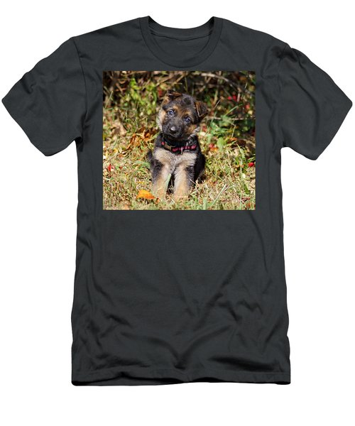Pretty Puppy Men's T-Shirt (Athletic Fit)