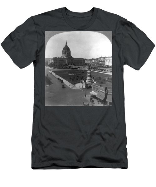 Men's T-Shirt (Slim Fit) featuring the photograph San Francisco City Hall by Granger