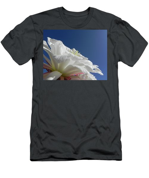 Men's T-Shirt (Slim Fit) featuring the photograph Striking Contrast by Deb Halloran