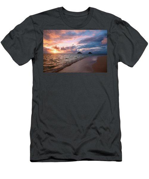 Sunrise At Lanikai Beach  Kailua Men's T-Shirt (Athletic Fit)