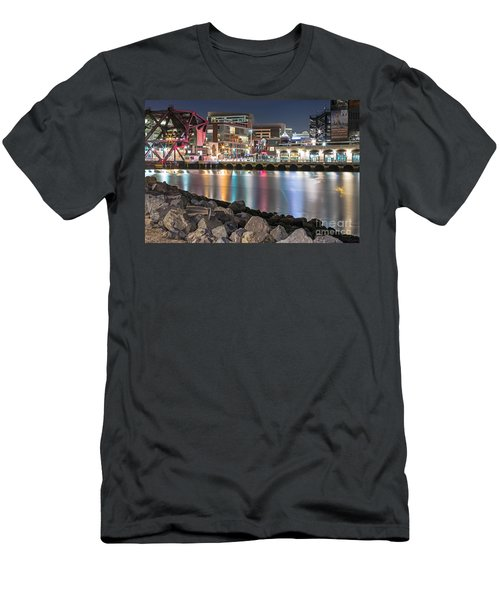 Third Street Bridge Men's T-Shirt (Athletic Fit)