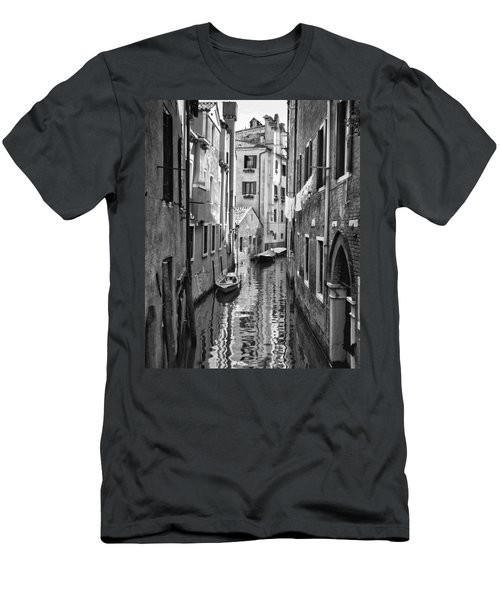 Venetian Alleyway Men's T-Shirt (Slim Fit) by William Beuther