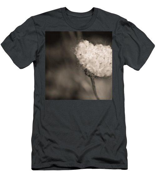 White Whisper Men's T-Shirt (Slim Fit) by Sara Frank