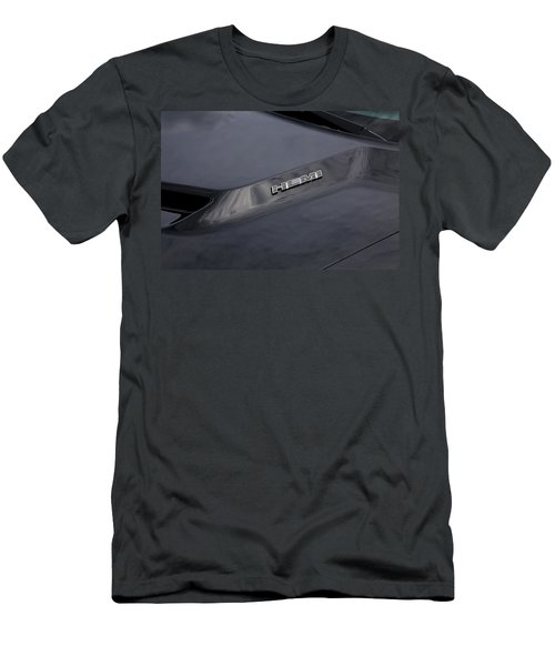 2011 Dodge Challenger Rt Black Men's T-Shirt (Athletic Fit)