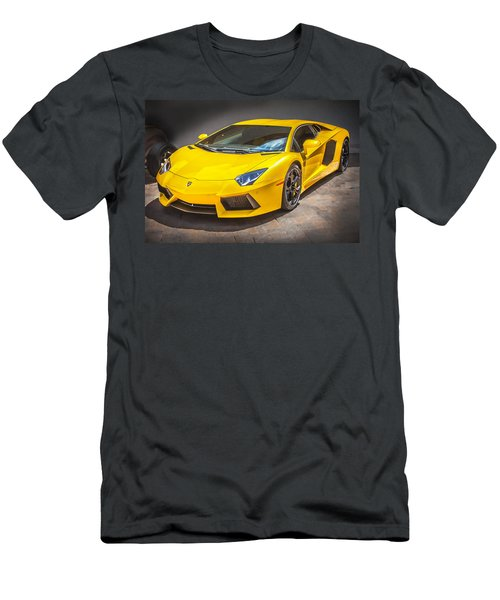 2013 Lamborghini Adventador Lp 700 4 Men's T-Shirt (Athletic Fit)