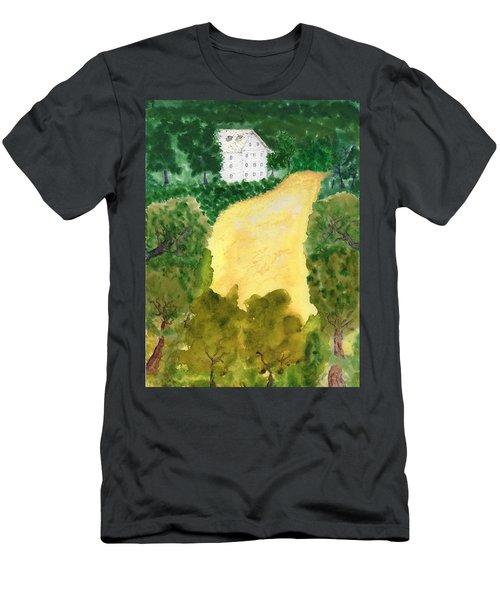 21 Room House On Golden Lake Dream Men's T-Shirt (Athletic Fit)