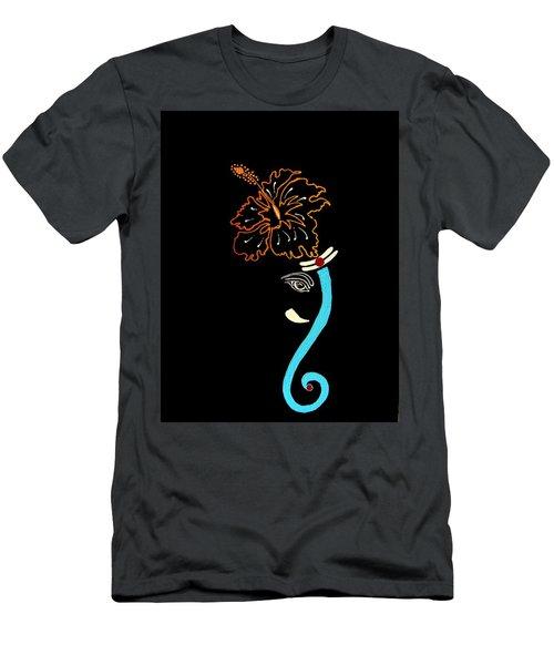 27 Mundakarama Ganesh Men's T-Shirt (Slim Fit) by Kruti Shah