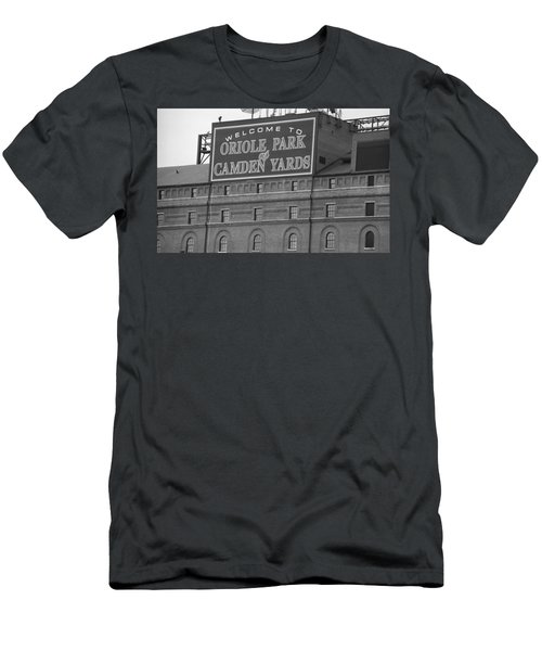 Baltimore Orioles Park At Camden Yards Men's T-Shirt (Slim Fit) by Frank Romeo