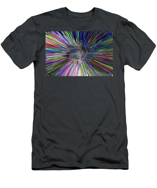 3 D Dimensional Art Abstract Men's T-Shirt (Athletic Fit)