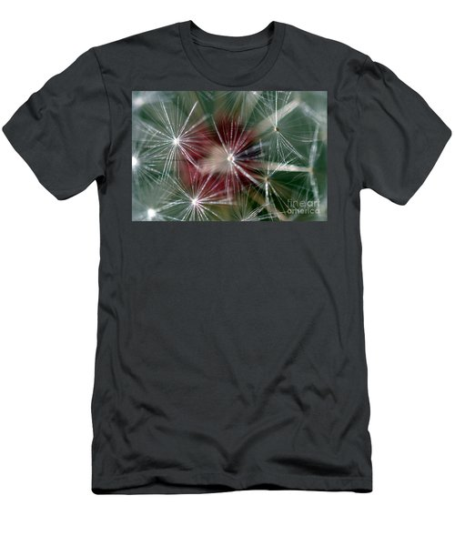 Men's T-Shirt (Slim Fit) featuring the photograph Dandelion Seed Head by Henrik Lehnerer
