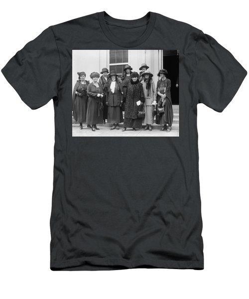 Men's T-Shirt (Slim Fit) featuring the photograph League Of Women Voters by Granger