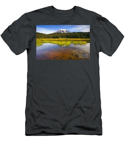 Rainier Capped Men's T-Shirt (Athletic Fit)