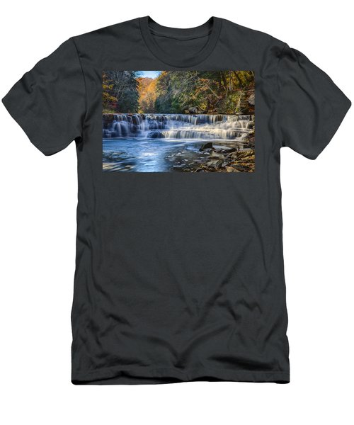 Squaw Rock - Chagrin River Falls Men's T-Shirt (Athletic Fit)