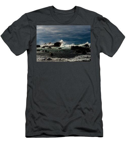 Stormy Seas And Skies  Men's T-Shirt (Athletic Fit)