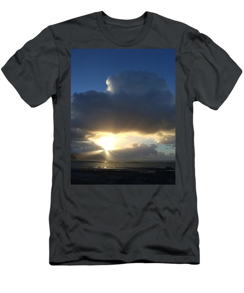 Sunbeams Over Conwy Men's T-Shirt (Athletic Fit)