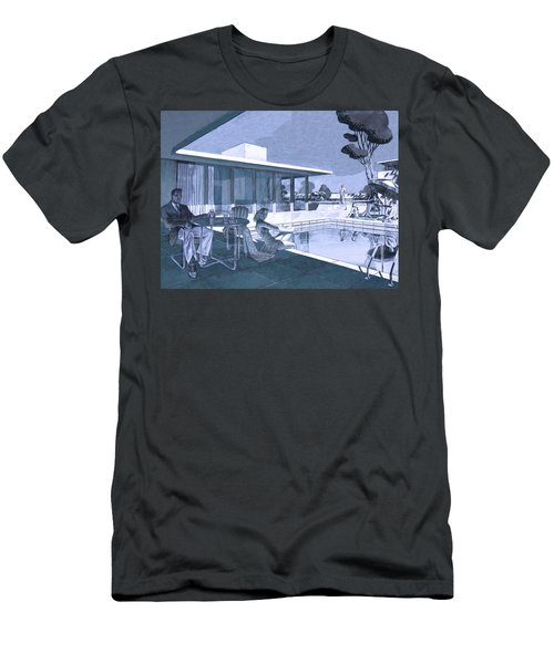 Palm Springs Sunday Men's T-Shirt (Athletic Fit)