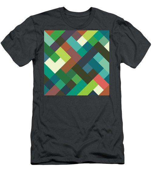 Pixel Art Men's T-Shirt (Athletic Fit)