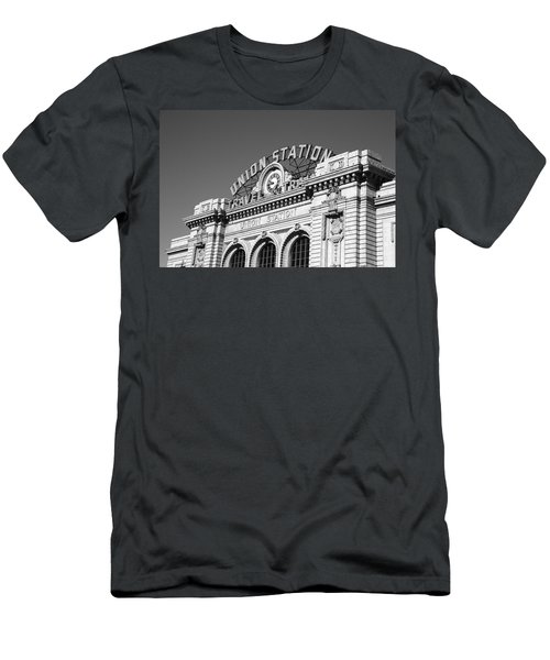 Denver - Union Station Men's T-Shirt (Athletic Fit)