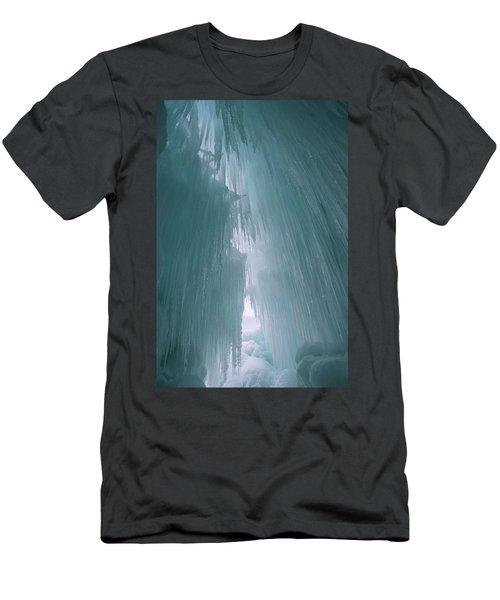 Ice Castle  Men's T-Shirt (Athletic Fit)
