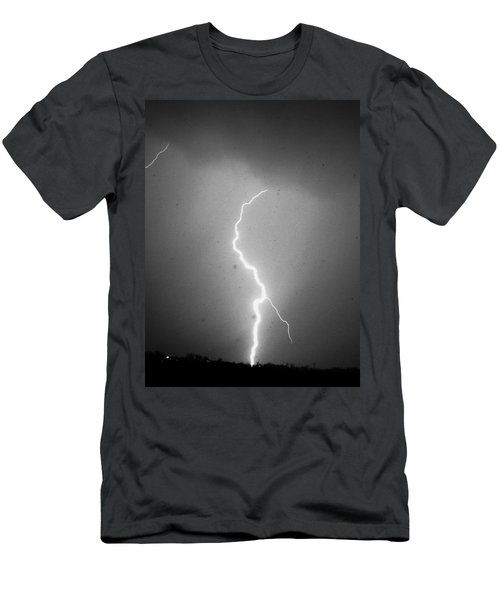 Our 1st Severe Thunderstorms In South Central Nebraska Men's T-Shirt (Athletic Fit)