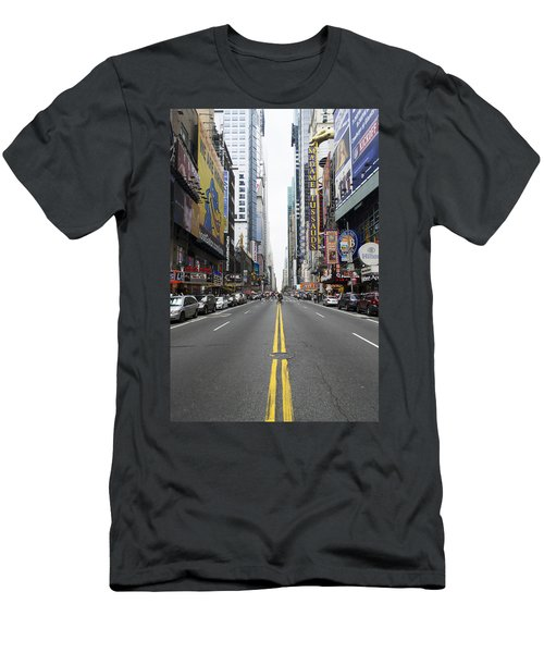 42nd Street - New York Men's T-Shirt (Athletic Fit)