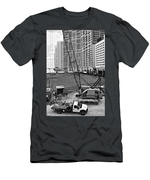 Construction Site-2 Men's T-Shirt (Athletic Fit)