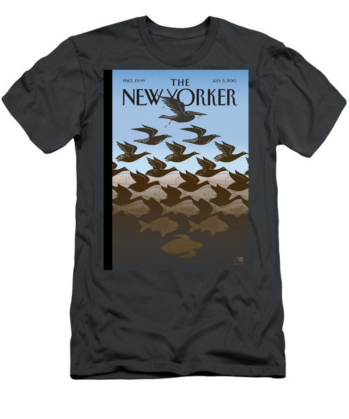New Yorker July 5th, 2010 Men's T-Shirt (Athletic Fit)
