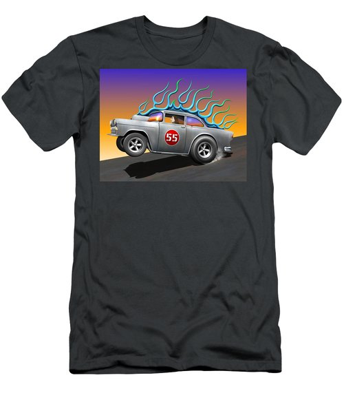 '55 Chevy Men's T-Shirt (Athletic Fit)