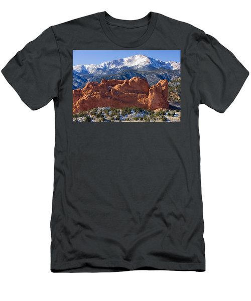 Garden Of The Gods Men's T-Shirt (Athletic Fit)
