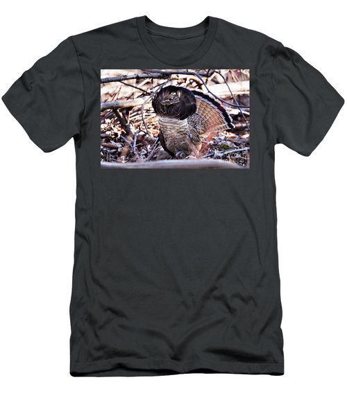 Ruffed Grouse Men's T-Shirt (Athletic Fit)
