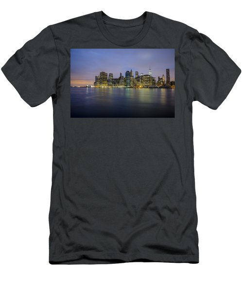 Men's T-Shirt (Athletic Fit) featuring the photograph 600am by Johnny Lam