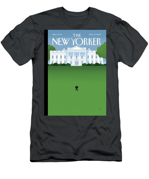 New Yorker April 27th, 2009 Men's T-Shirt (Athletic Fit)