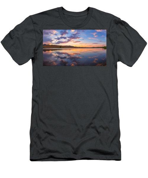 8 Dollar Sunset Men's T-Shirt (Athletic Fit)
