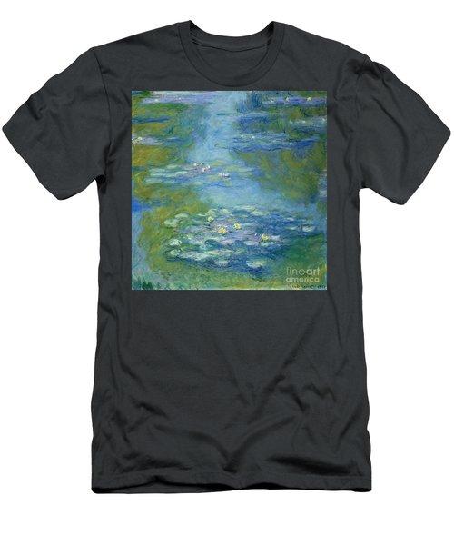 Waterlilies Men's T-Shirt (Athletic Fit)