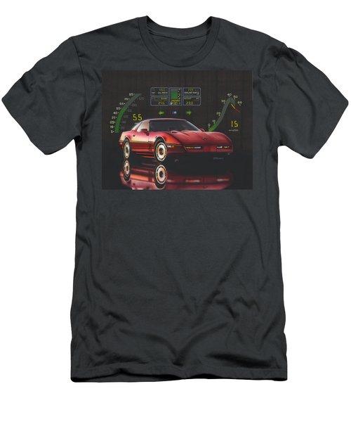 84 Corvette Men's T-Shirt (Athletic Fit)