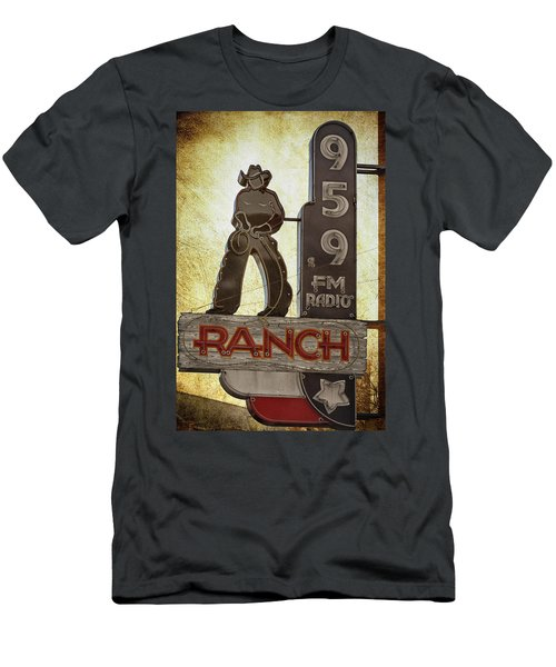 95.9 The Ranch Men's T-Shirt (Athletic Fit)