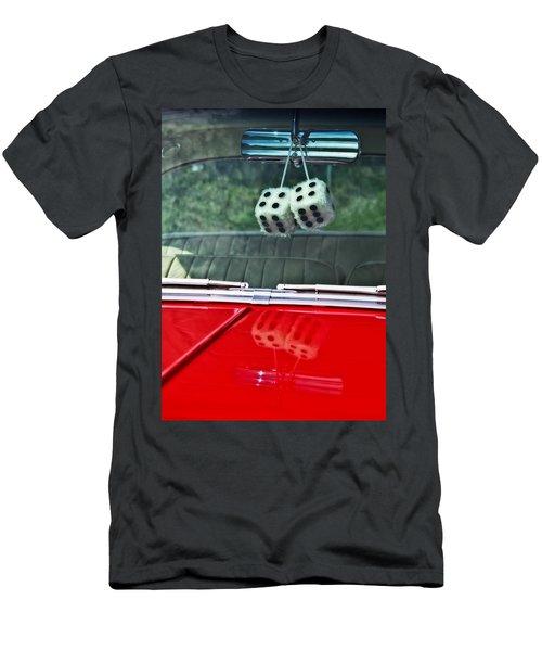 A Bit Dicey Men's T-Shirt (Slim Fit) by Mark Alder