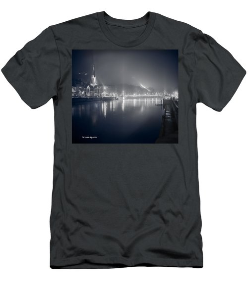Men's T-Shirt (Athletic Fit) featuring the photograph A Cathedral In The Mist II by Stwayne Keubrick