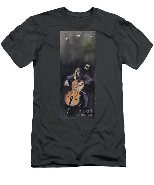 A Cellist Men's T-Shirt (Athletic Fit)