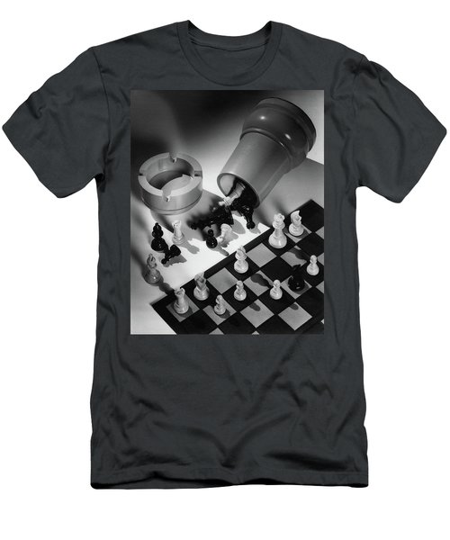 A Chess Set Men's T-Shirt (Athletic Fit)