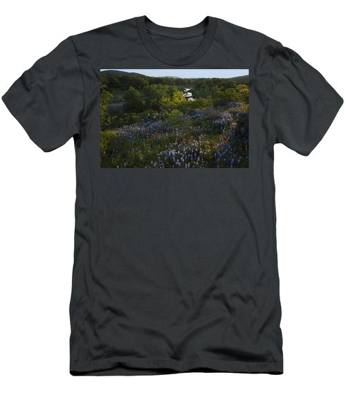 A Creek In Llano County  Men's T-Shirt (Athletic Fit)